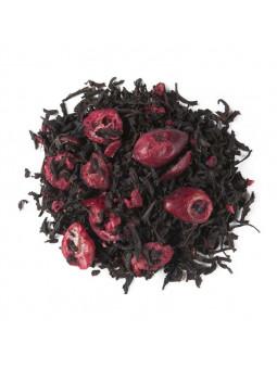 Schwarzer Tee Mit Roten Früchten