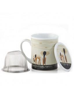 Tisanera Elefantes de Africa