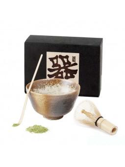 Ensemble de Thé Matcha. La cérémonie du thé