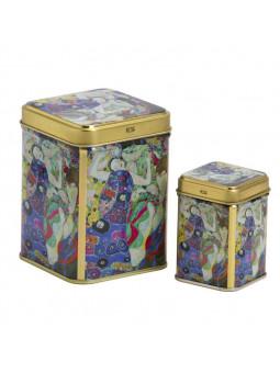 Jeu de Boîtes de conserve Vierge Klimt