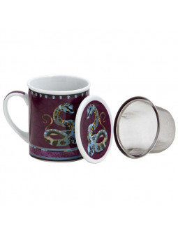 Arabian Nights infuser mug