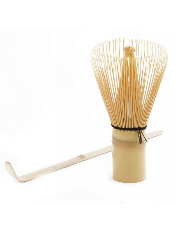 Batedor de bambú i mesurador de te matcha