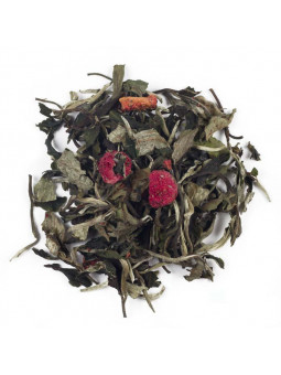 Tè Bianco Pai Mu Tan Fragola