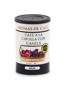 Coffee with Cinnamon and Plum