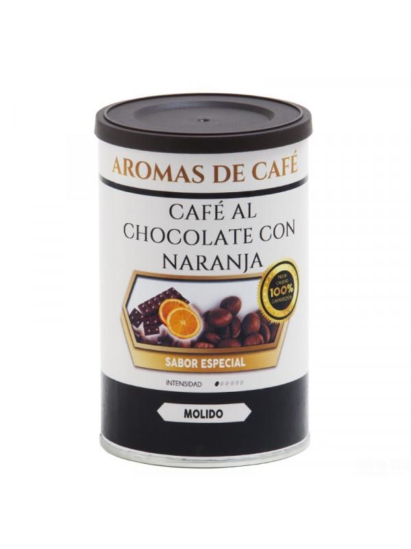 Café avec du Chocolat et de l'Orange