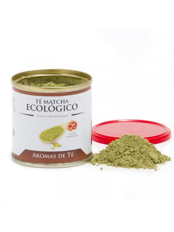 Té Matcha Ecológico sabor a caramelo