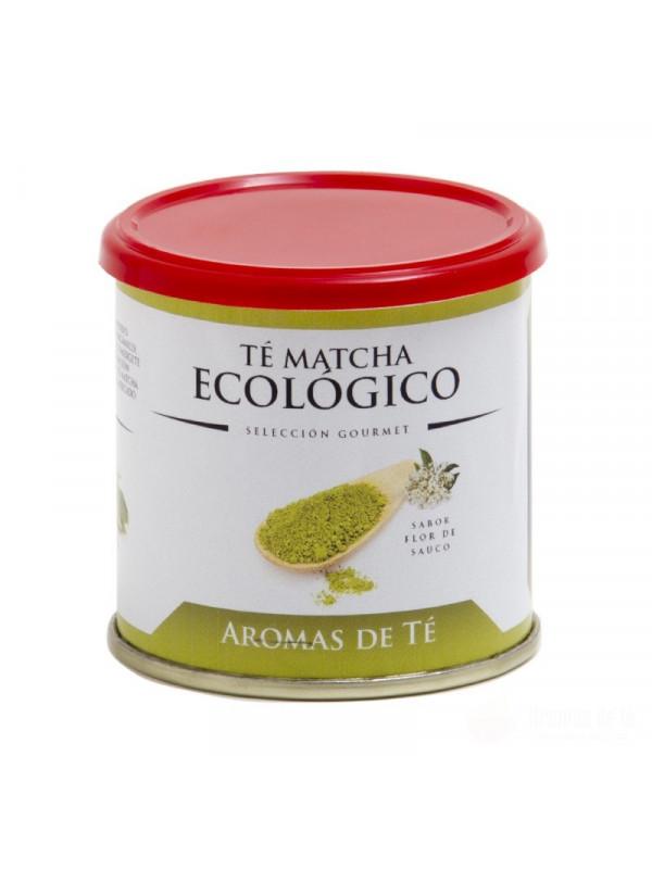 Té Matcha Ecológico sabor flor de sáuco
