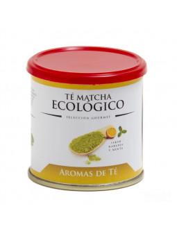 Matcha tea is Organic orange flavor and mint