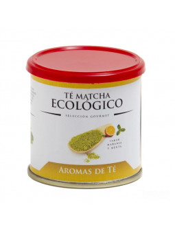Te Matcha és Orgànica sabor de taronja i menta