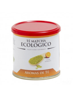 Matcha tea is Organic orange flavor
