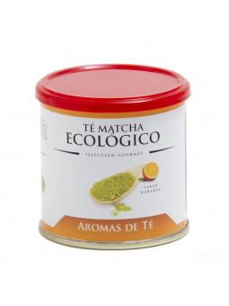 Té Matcha Ecológico sabor a naranja