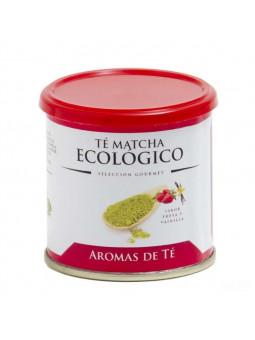 Té Matcha Ecológico sabor a fresa y vainilla 30 grs.
