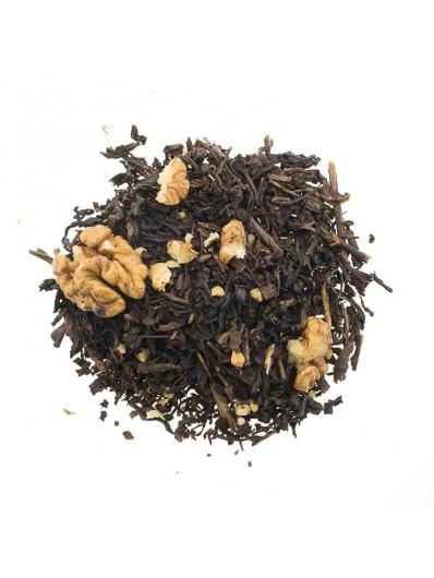 Te Oolong semi fermentado con nueces