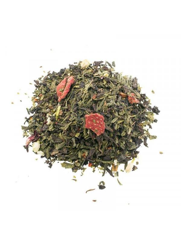 Thé rouge et le Thé Vert Désintoxication