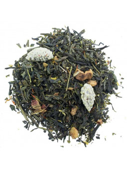 Green tea Almond with Ginger and Apple Eco