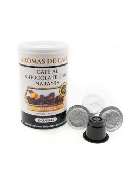 Càpsules de Cafè amb Xocolata i Taronja compatible amb Nespresso