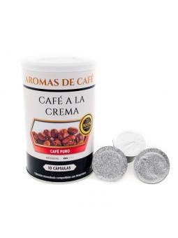 Cápsulas de café para a crema compatible con Nespresso