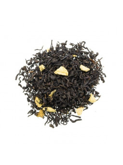 Red tea Pu-Erh tea, Lemon and Cinnamon