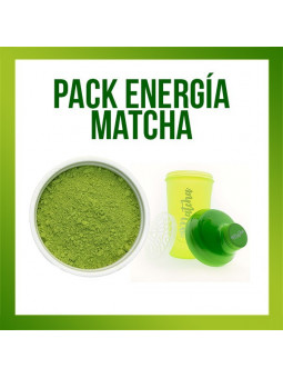 Pack énergie Matcha