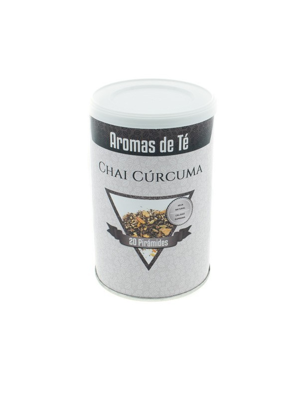 Pyramides de thé de Curcuma