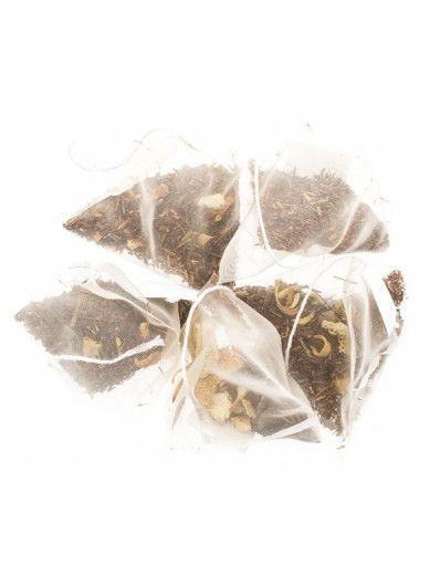 Té en piramides Rooibos Delicias de Chocolate