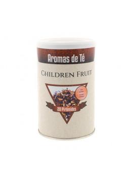 Tea in pyramids Children Fruit