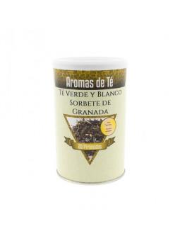 El te verd i Blanc Sorbet de Magrana