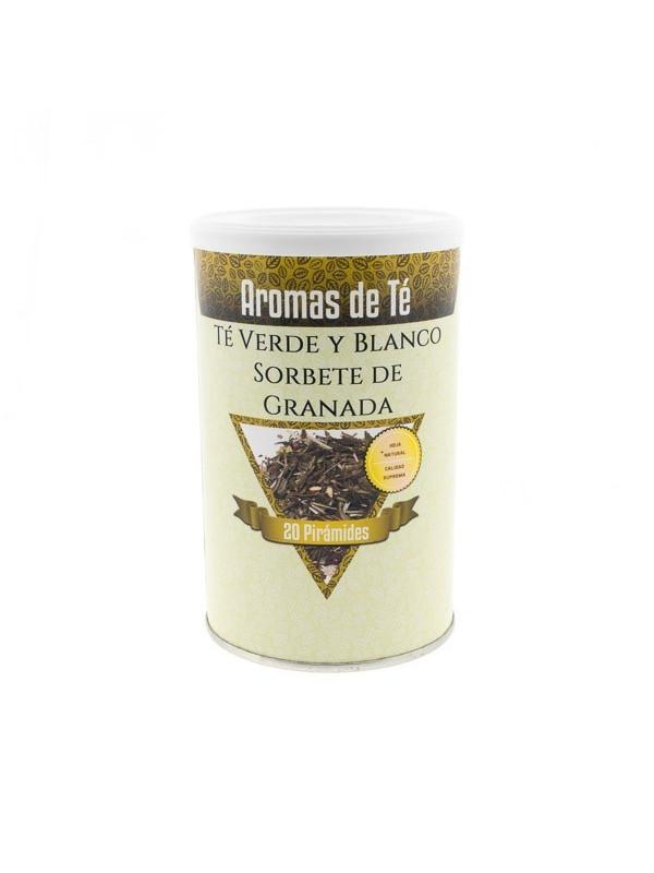 Thé vert et de Blanc, Sorbet à la Grenade