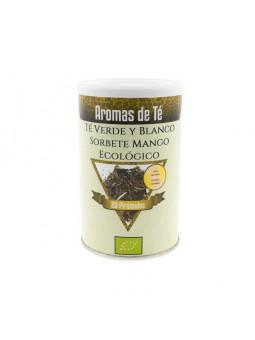 Grüner tee und Weiße Mango Sorbet Bio