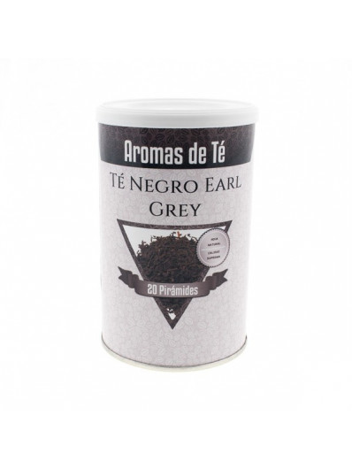 Té en pirámides te Negro Earl Grey