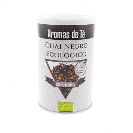 Té Chai Negro Ecológico en pirámides