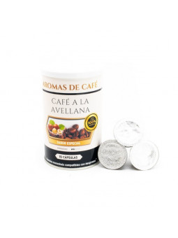 Cápsulas de Café Avellana compatibles con nespresso