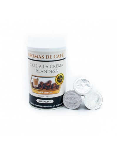 Cápsulas de Café Crema Irlandesa compatibles con nespresso