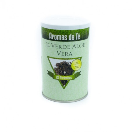 Té en pirámides Té Verde Aloe Vera
