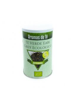 Pirámides de Té Verde Sencha Earl Grey Ecológico