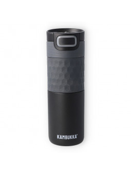 Termo Kambukka Etna Grip Black Steel 500 ml