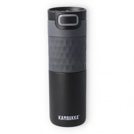 Termo Kambukka Etna Grip  Black Steel 500 ml