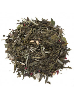 Green tea and White Sorbet Granada