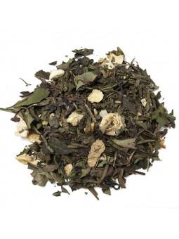 Green tea and White Sherbet Lemon