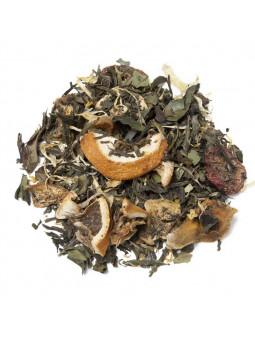 El te verd i Blanc Sorbet de Maduixa