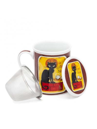 Tisanera Le Chat Noir