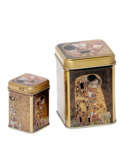 Jeu de Boîtes de conserve Baiser de Klimt