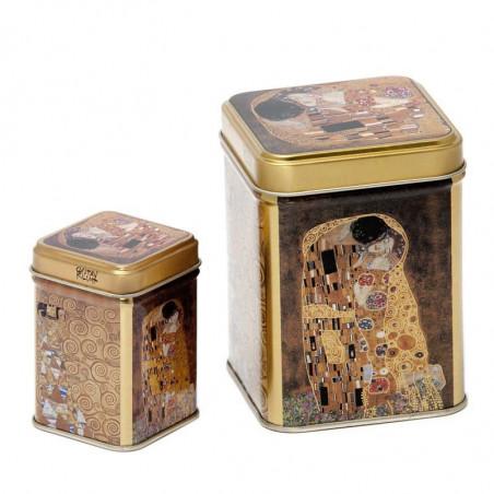Juego de Latas Beso Klimt