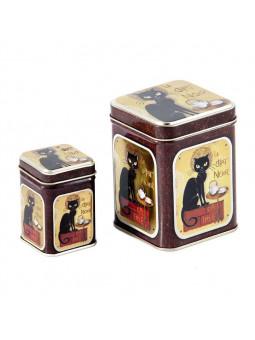 Jeu de Boîtes de conserve Le Chat Noir