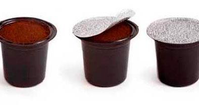 cápsulas café molido